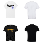 Apparel T-Shirt, Sean Wotherspoon Vespa Peace Sign (Black or White)