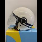 Apparel Helmet, Vespa VJ White/Blue Yacht Club II Edition