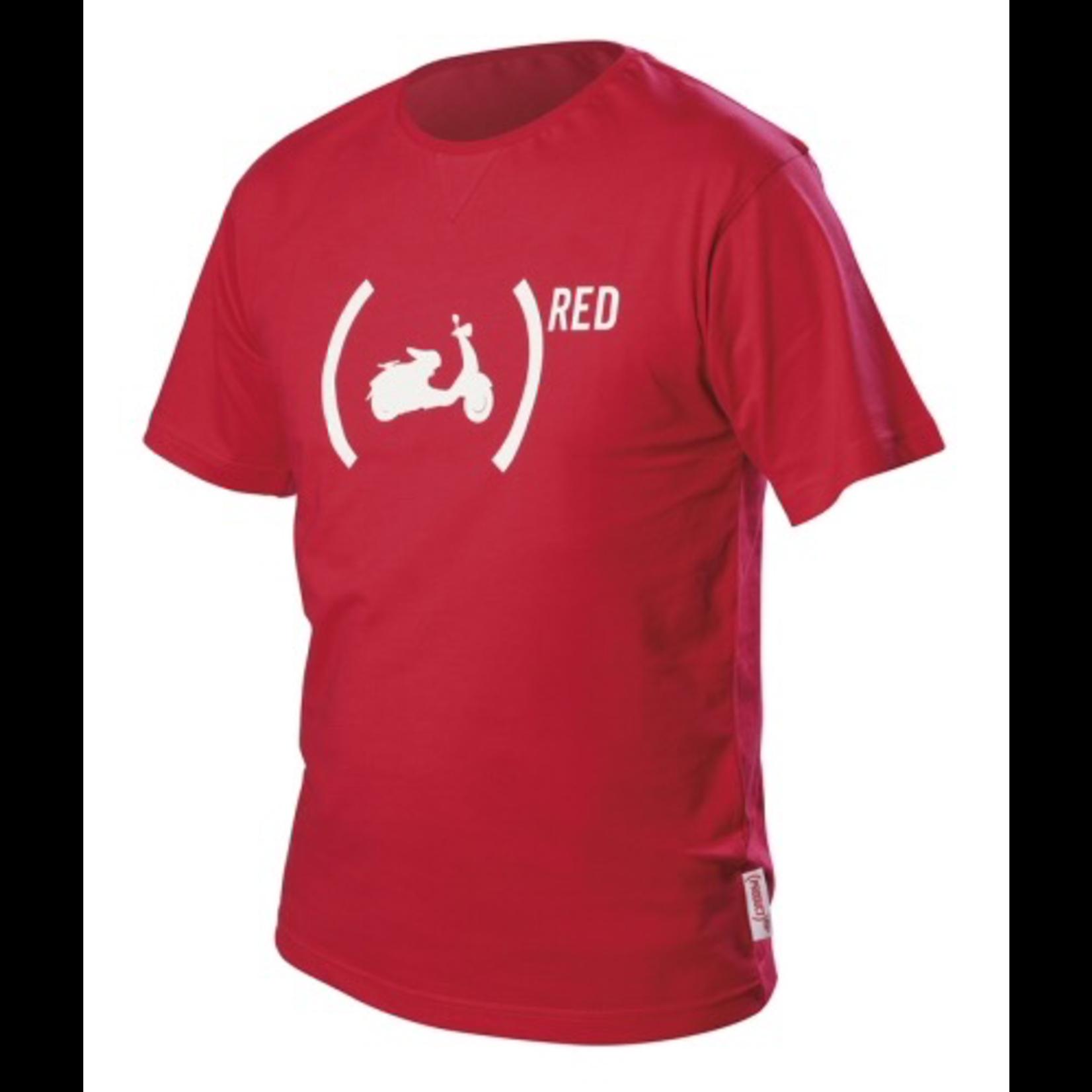 Apparel T-Shirt, Men's (Unisex) Vespa (RED)