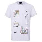 Apparel T-Shirt, Sean Wotherspoon Vespa Wires White