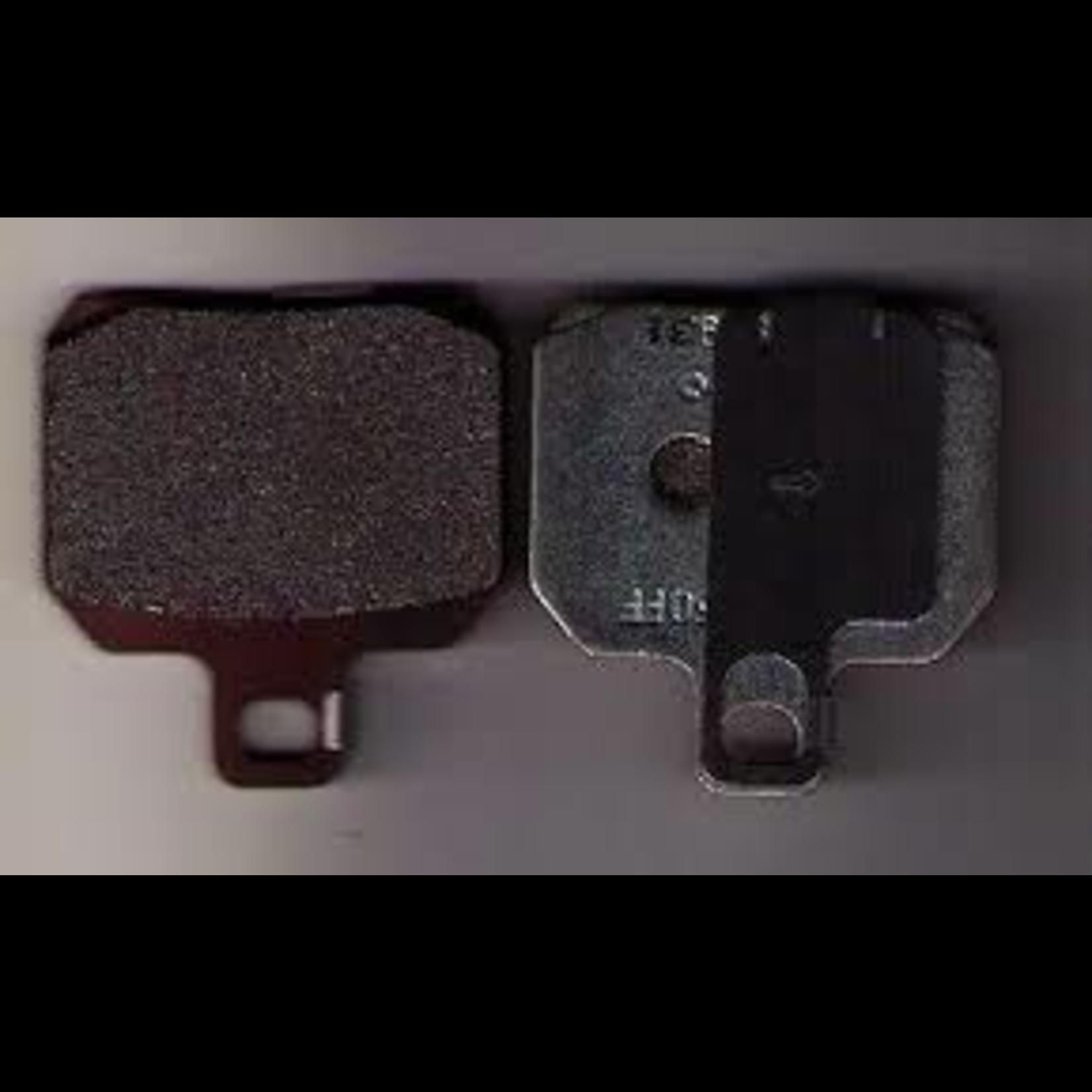 Parts Brake Pads, Rear X9 ( 647077 )