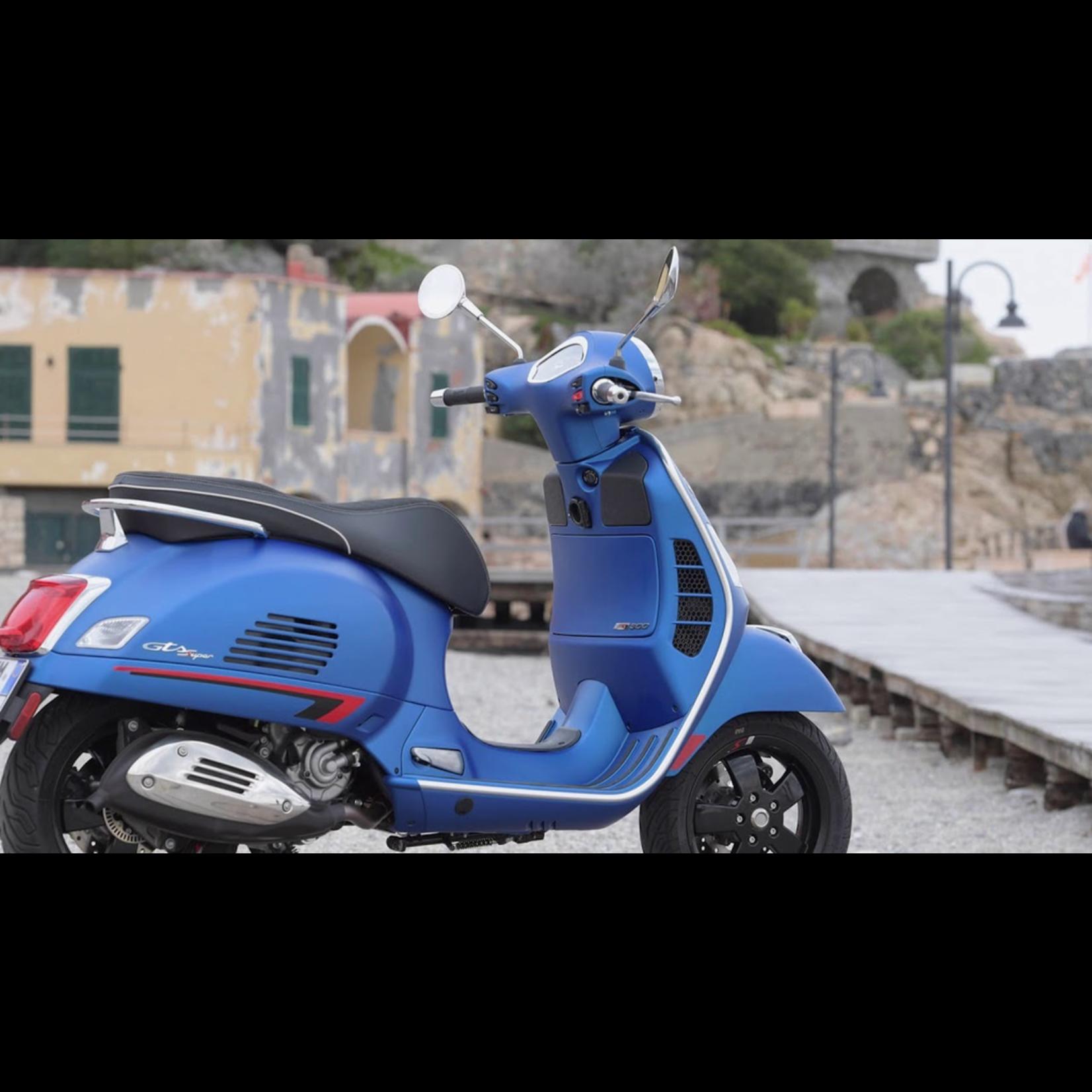 Vehicles Vespa, 2021 GTS300 HPE SuperSport Blue Vivace