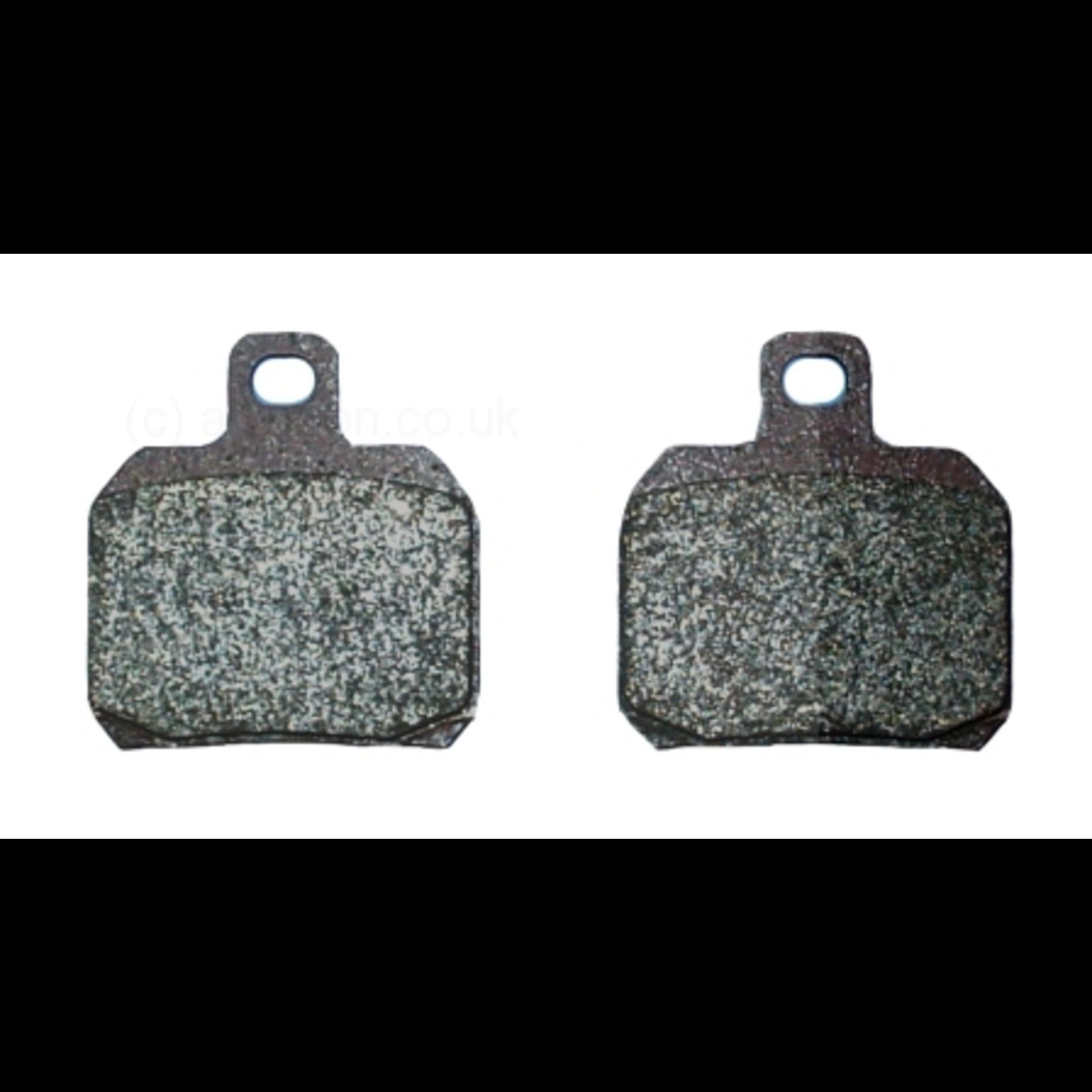 Parts Brake Pads, BV500 Front and Rear