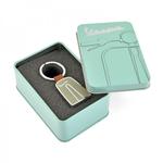 Lifestyle Keychain, Vespa Legshield Green