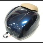 Accessories Top Case, GTS Midnight Blue/Tan Backrest