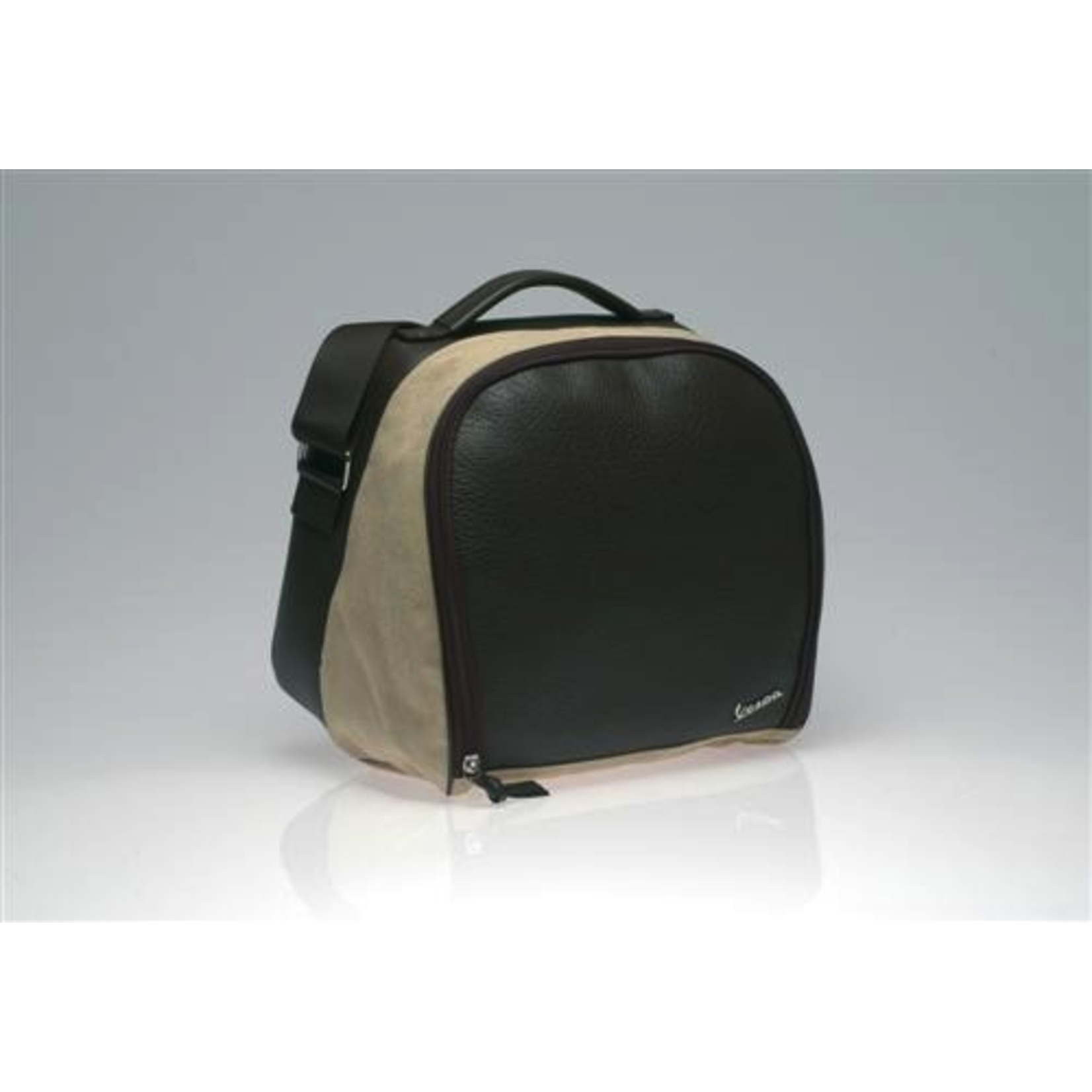 Accessories Top Case Bag, LX Leather/Canvas