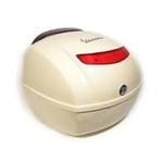 Accessories Top Case, LXV Sienna Ivory 552 w/ Leather Backrest