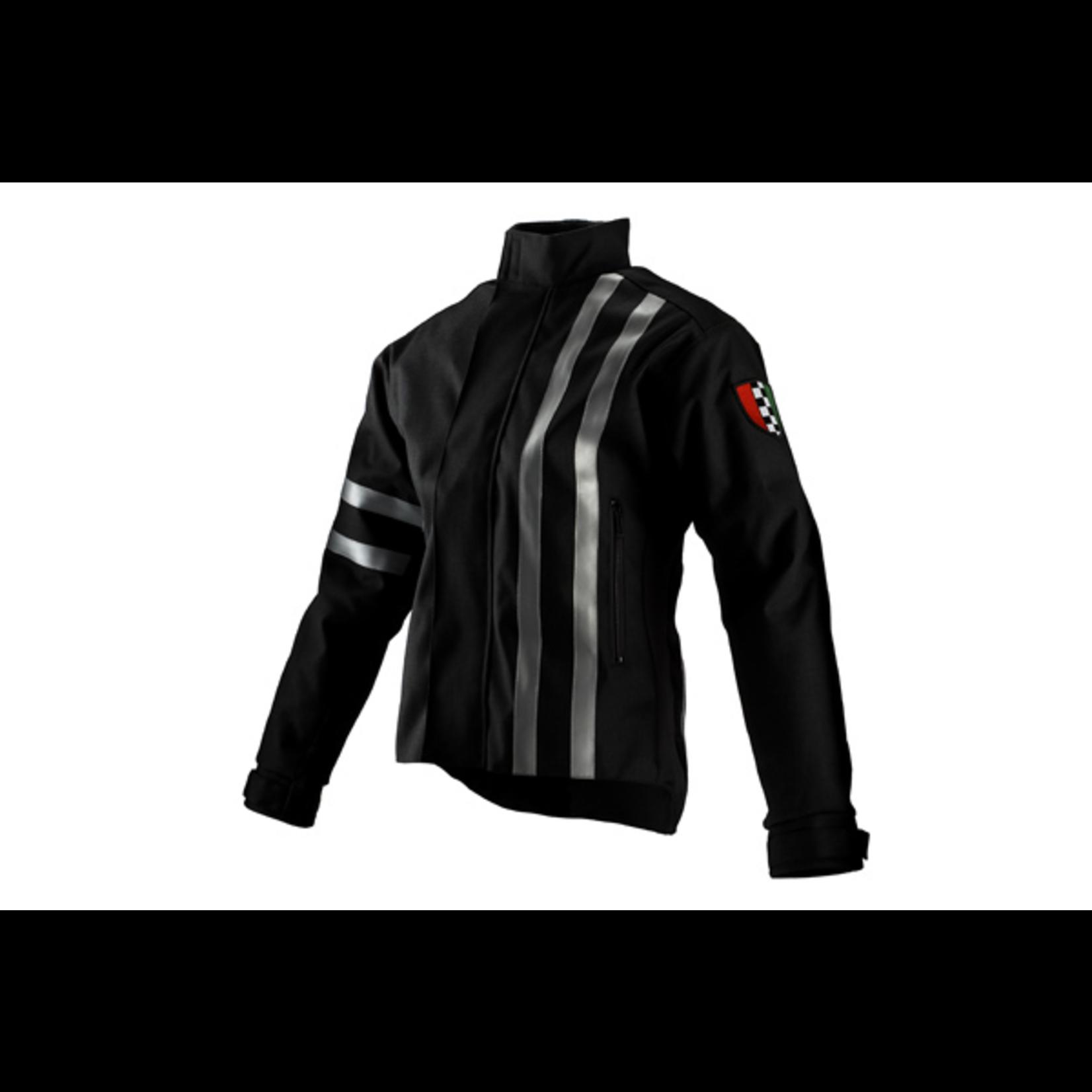 Apparel Jacket, Corazzo Women's 5.0 Black (Black Stripe) XL
