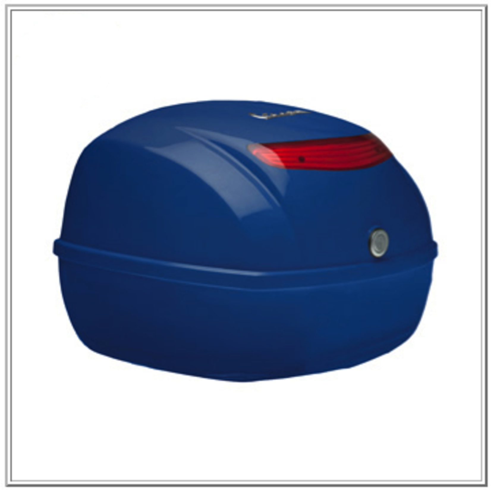 Accessories Top Case, S50 Mediterranean Blue (Requires 657083 Rack)