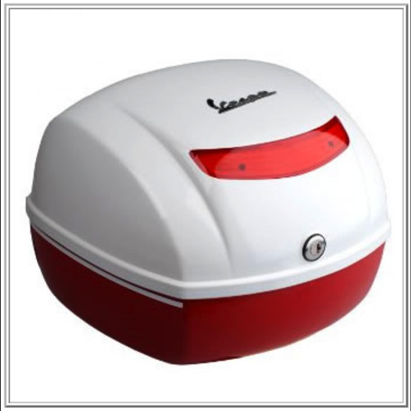 Accessories Top Case, S150 Red/White 2-Tone