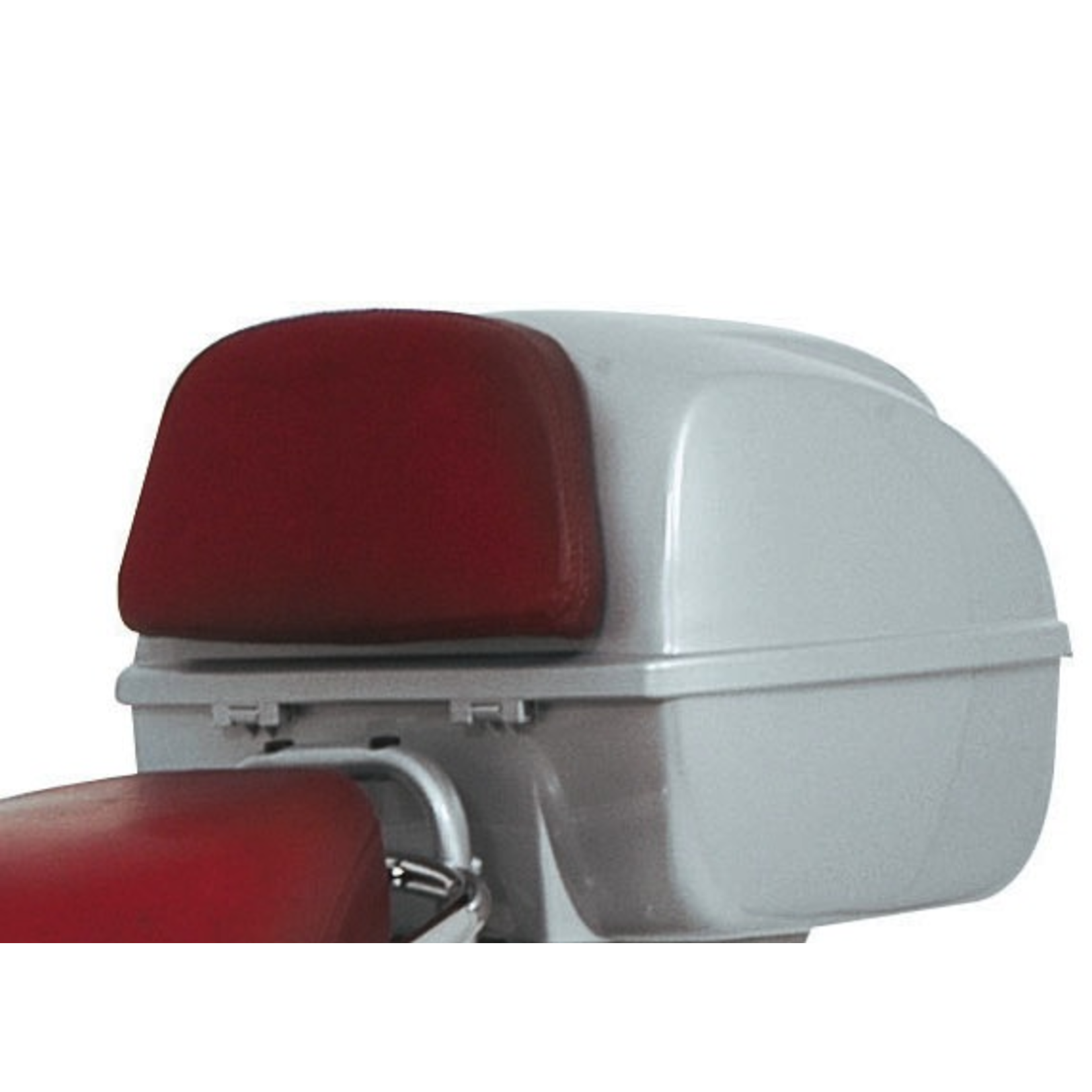Accessories Top Case Back Rest, LX Leather Oxblood Red
