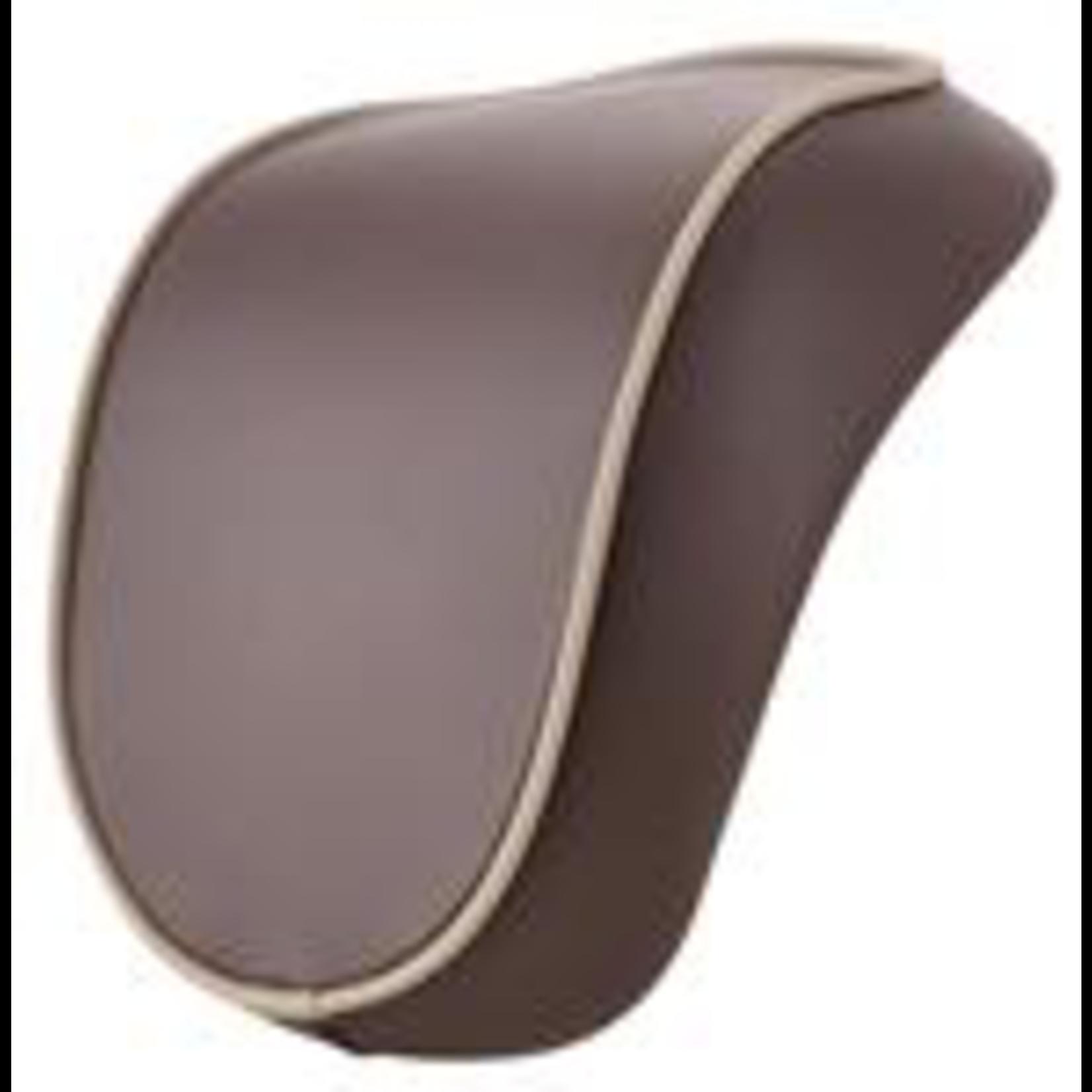 Accessories Top Case Back Rest, Primavera 70th Brown/Cream Piping