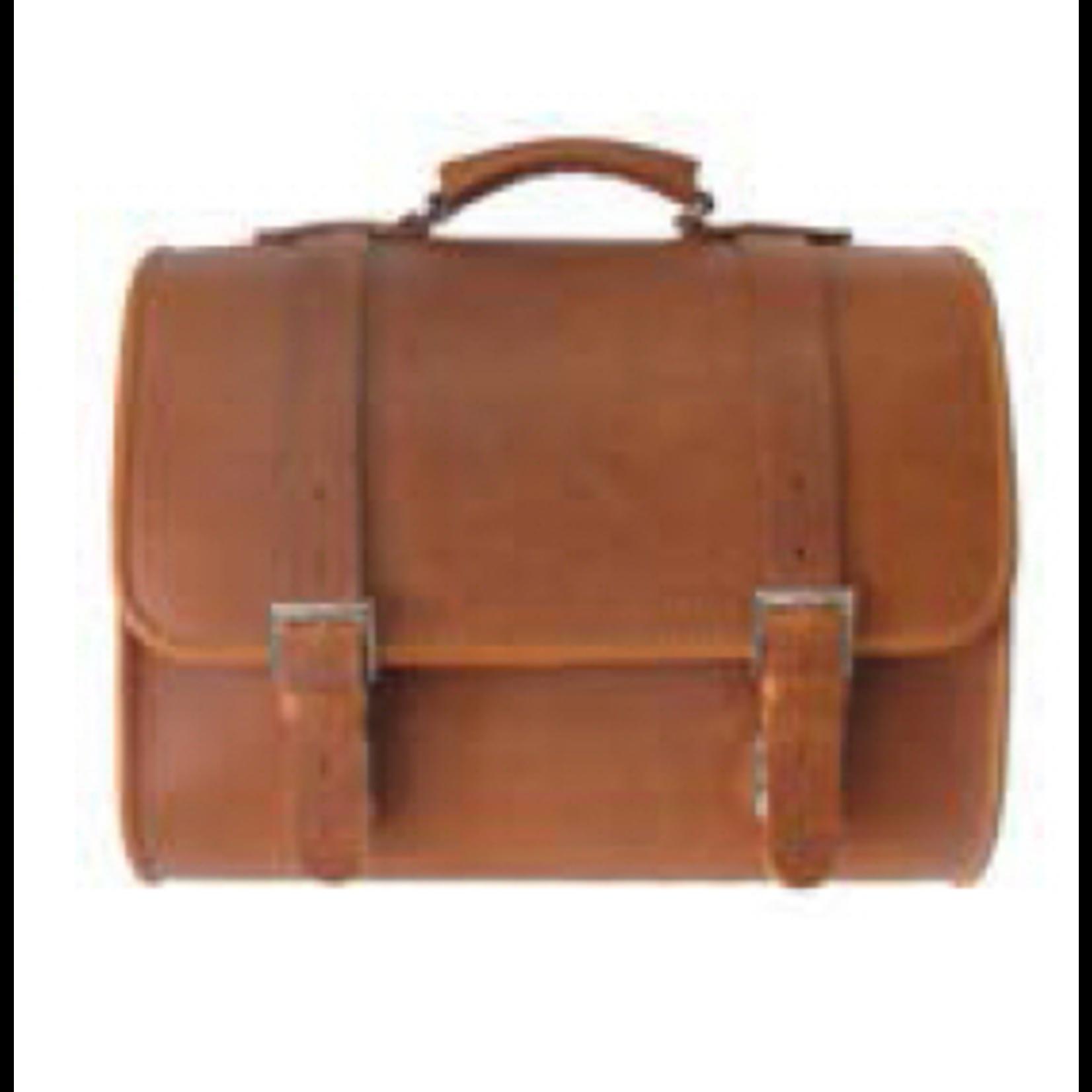 Accessories Top Case, Vespa Leather Bag Brown