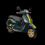 Vehicles Vespa, 2021 GTS300 HPE Racing 60's Green