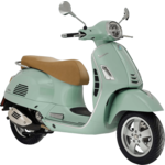 Vehicles Vespa, 2021 GTS300 HPE Verde Relax