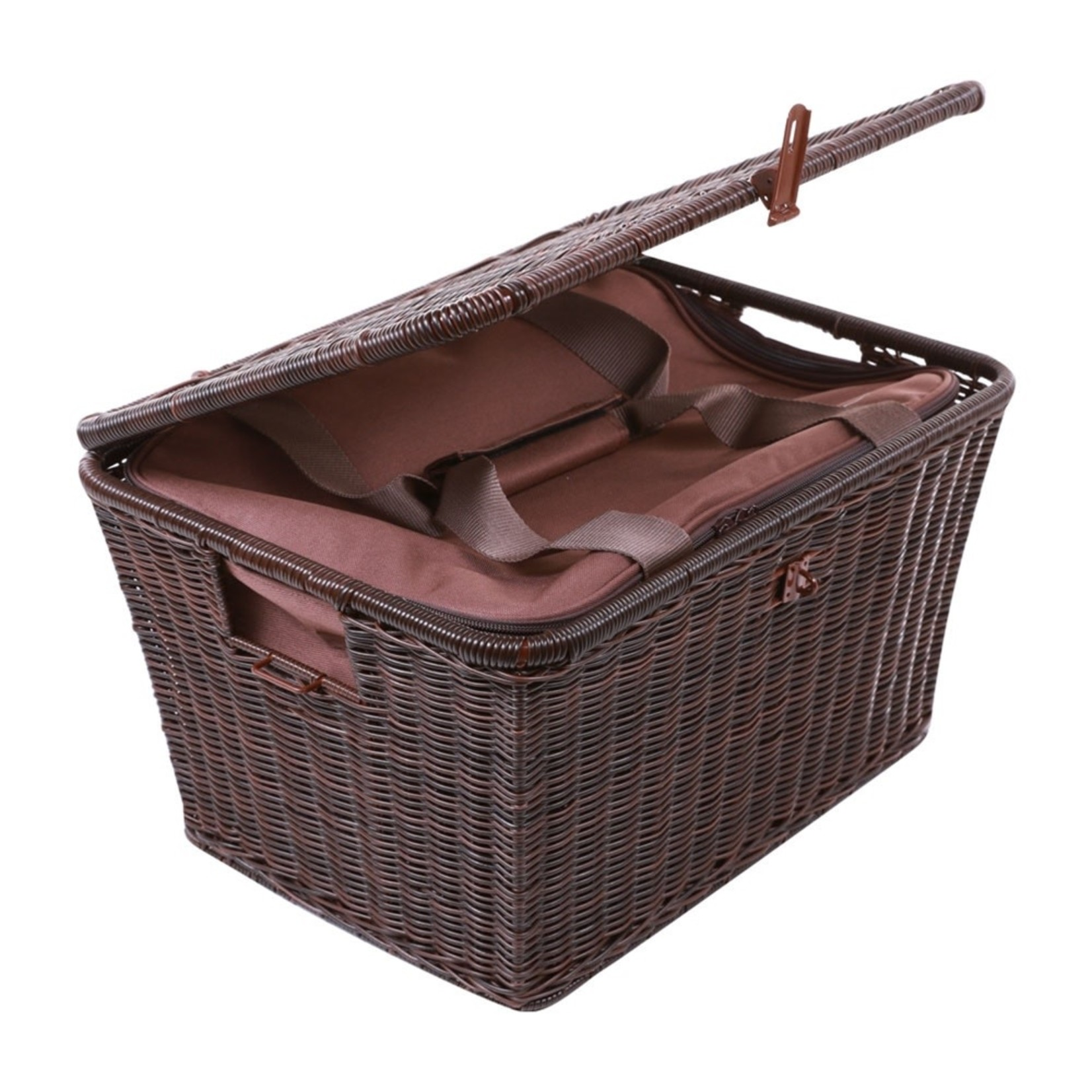 Accessories Top Case Basket,  Brown Large w/Liner