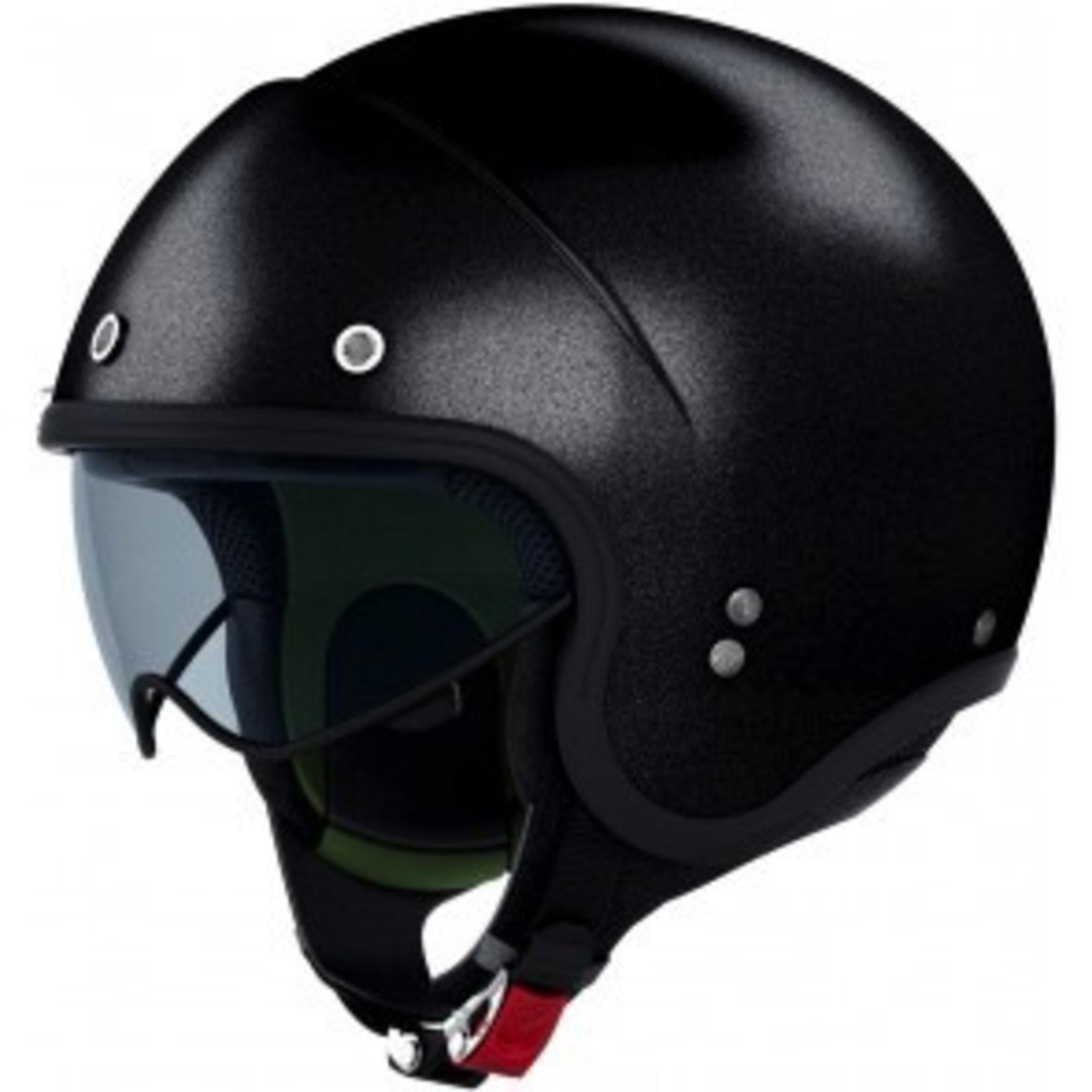 Apparel Helmet, NOLAN N21 Caribe Metal Black