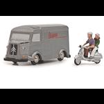Lifestyle Toy, Schuco Citroen HY Vespa (Limited 500 edition)