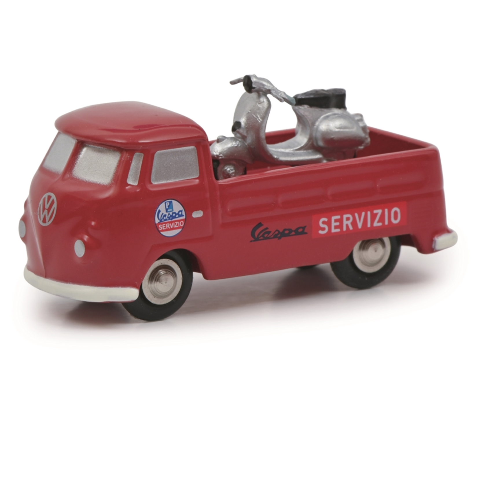Lifestyle Toy, Schuco Vespa VW service truck T1b  (Limited 500 edition)