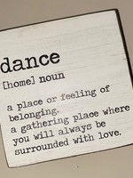 Rustic Marlin Dance Definition Square Block