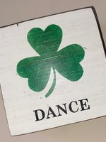 Rustic Marlin Irish Dance Square Block