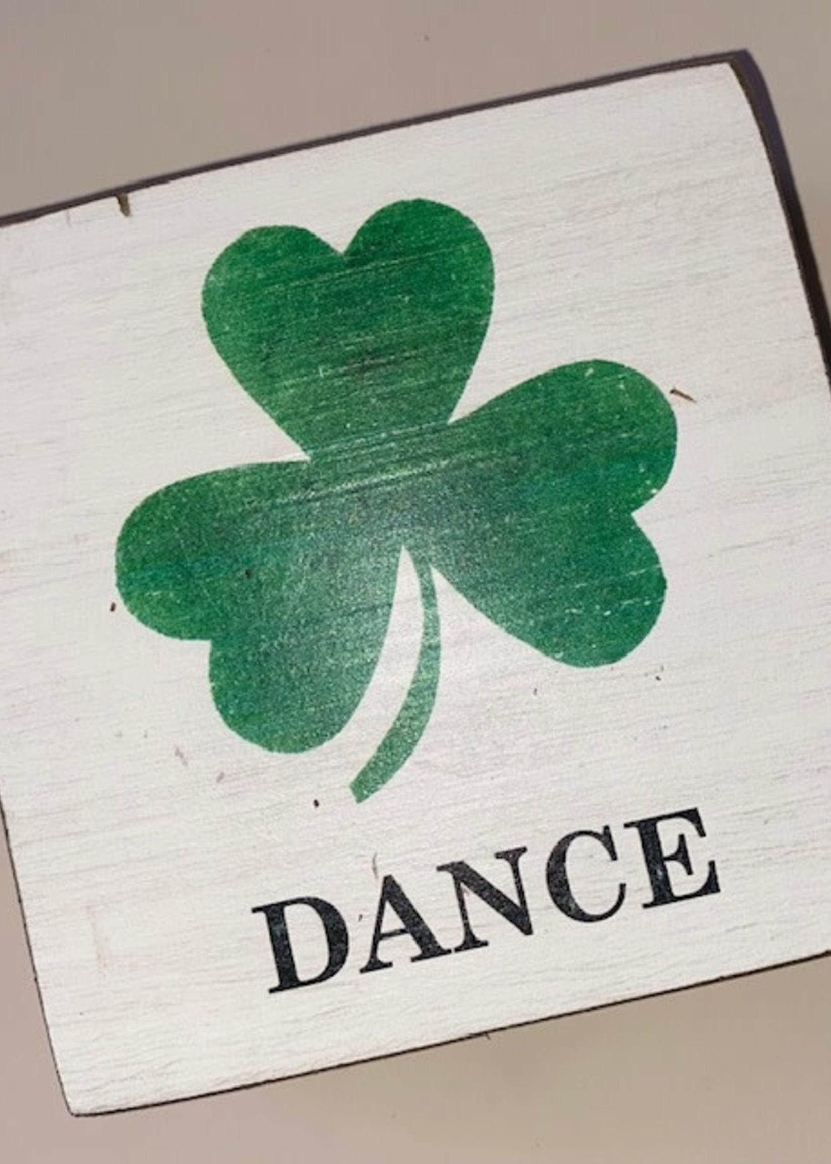 Rustic Marlin Irish Dance Square Block
