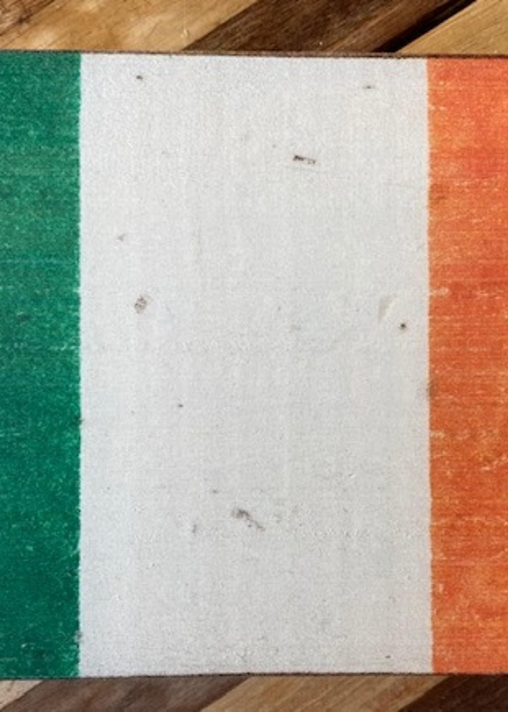 Rustic Marlin Irish Flag XL Rustic Block