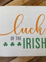 Rustic Marlin Luck of the Irish Rustic Block