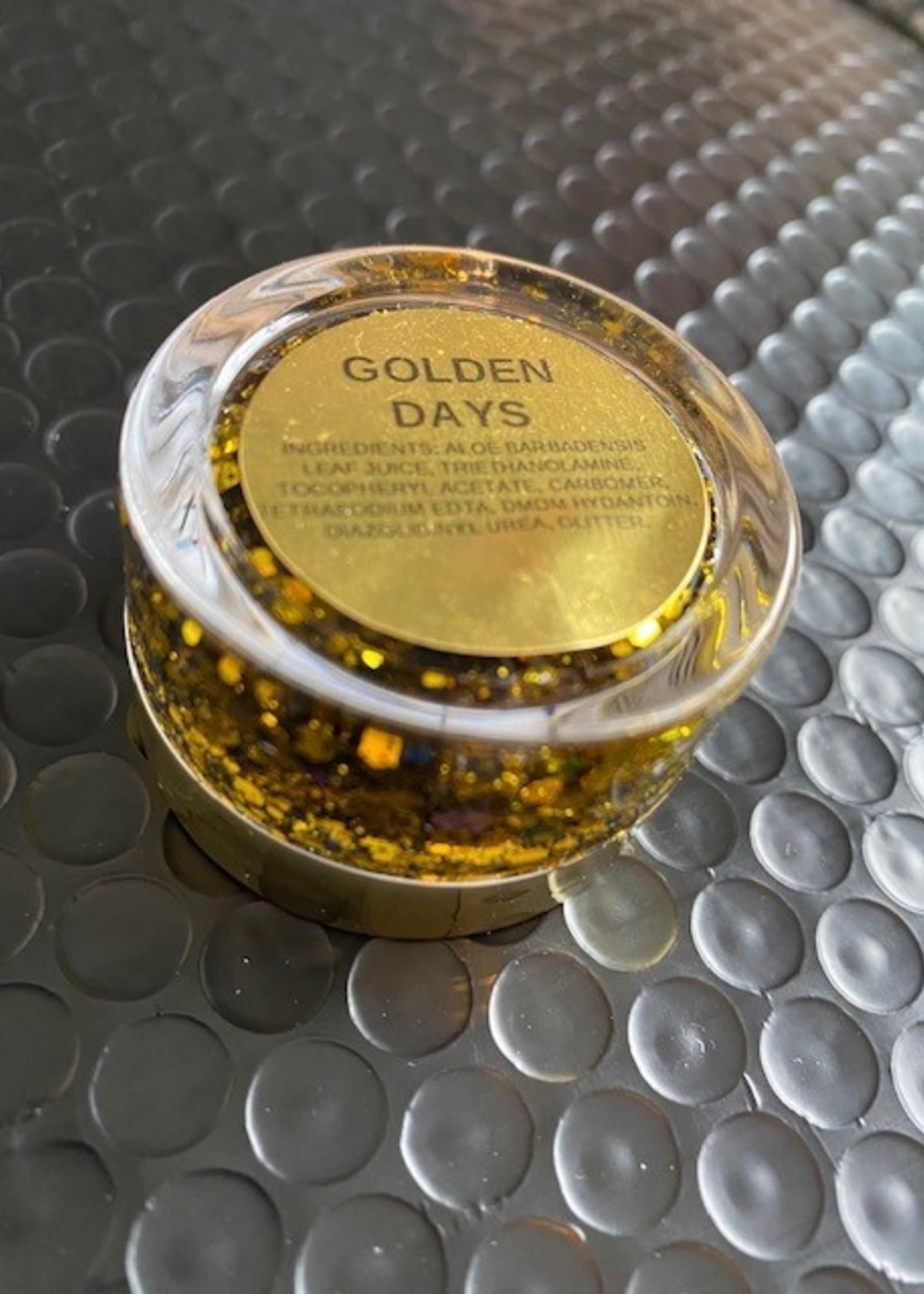 Kismet Cosmetics Tinsel Face Glitters - Golden Days