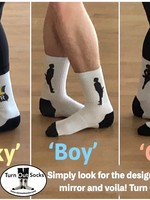 Turn Out Socks Turn Out Socks
