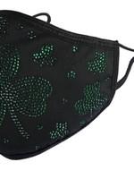 Natalie Mills Green Clover Face Mask