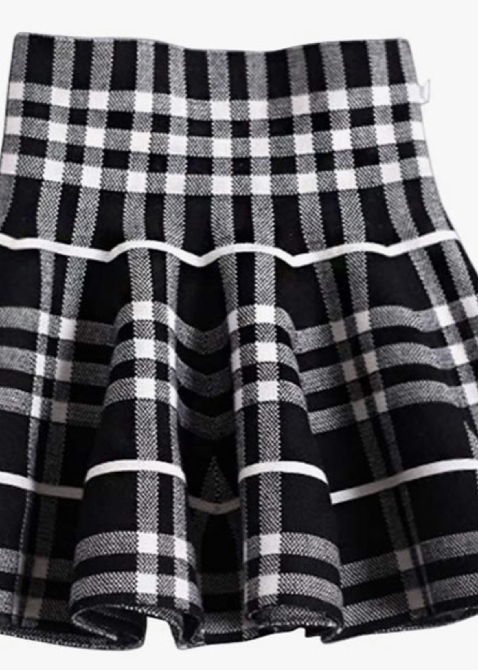 High Waist Dance Skirt