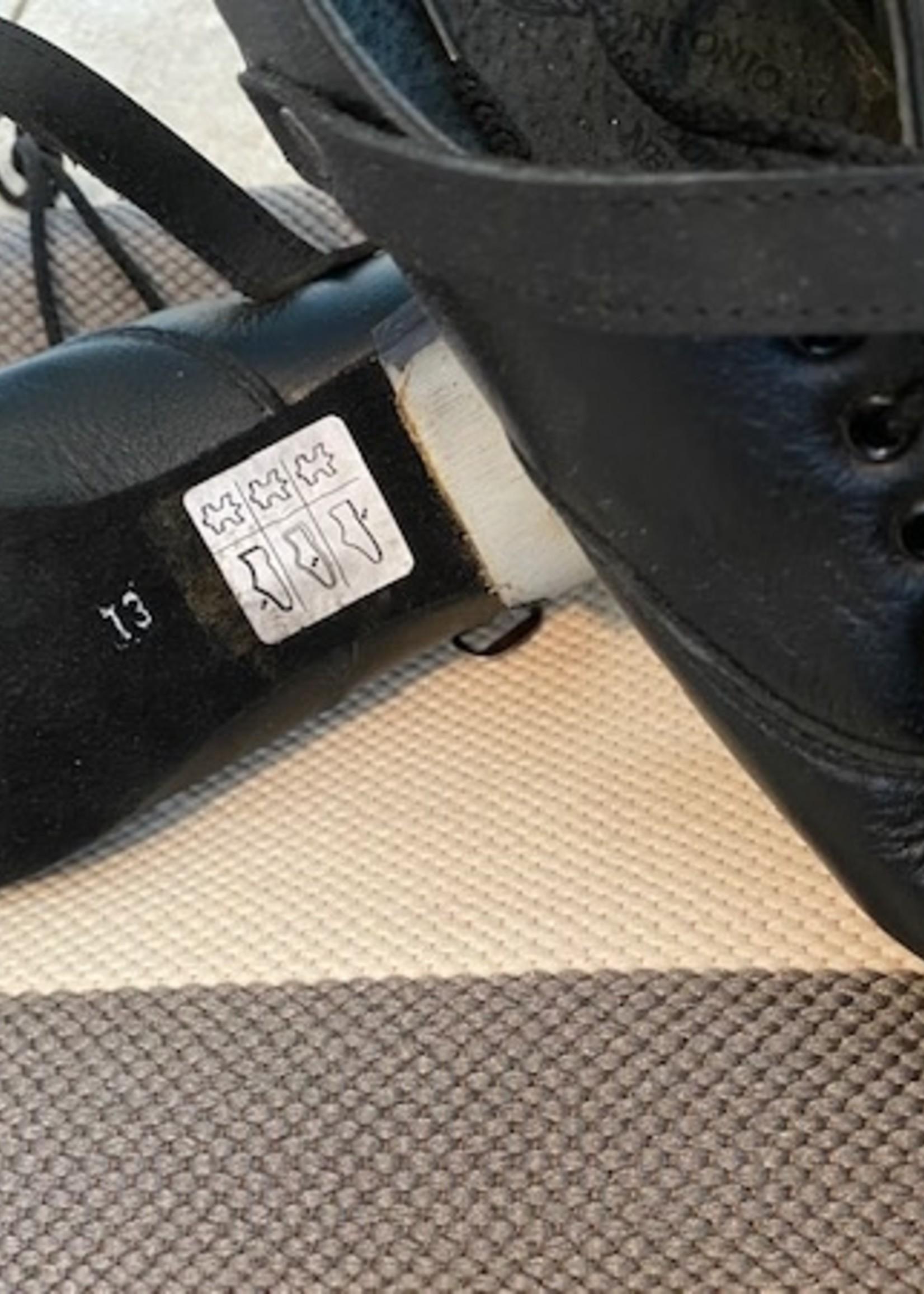 Utra Flexi jig shoe WIde - Concorde Tip & heel size 9