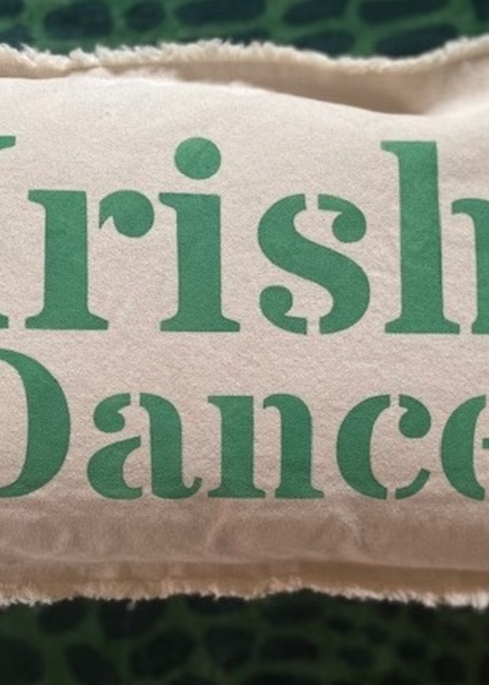 Rustic Marlin Irish Dance Pillow