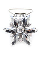 Pacelli Flower Crystal Number Clip