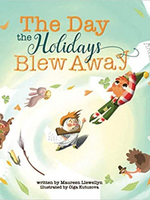 The Day the Holidays Blew Away Book