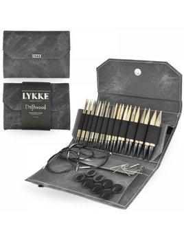 LYKKE Crafts LYKKE Crafts Interchangeable Circular Set Denim Gray