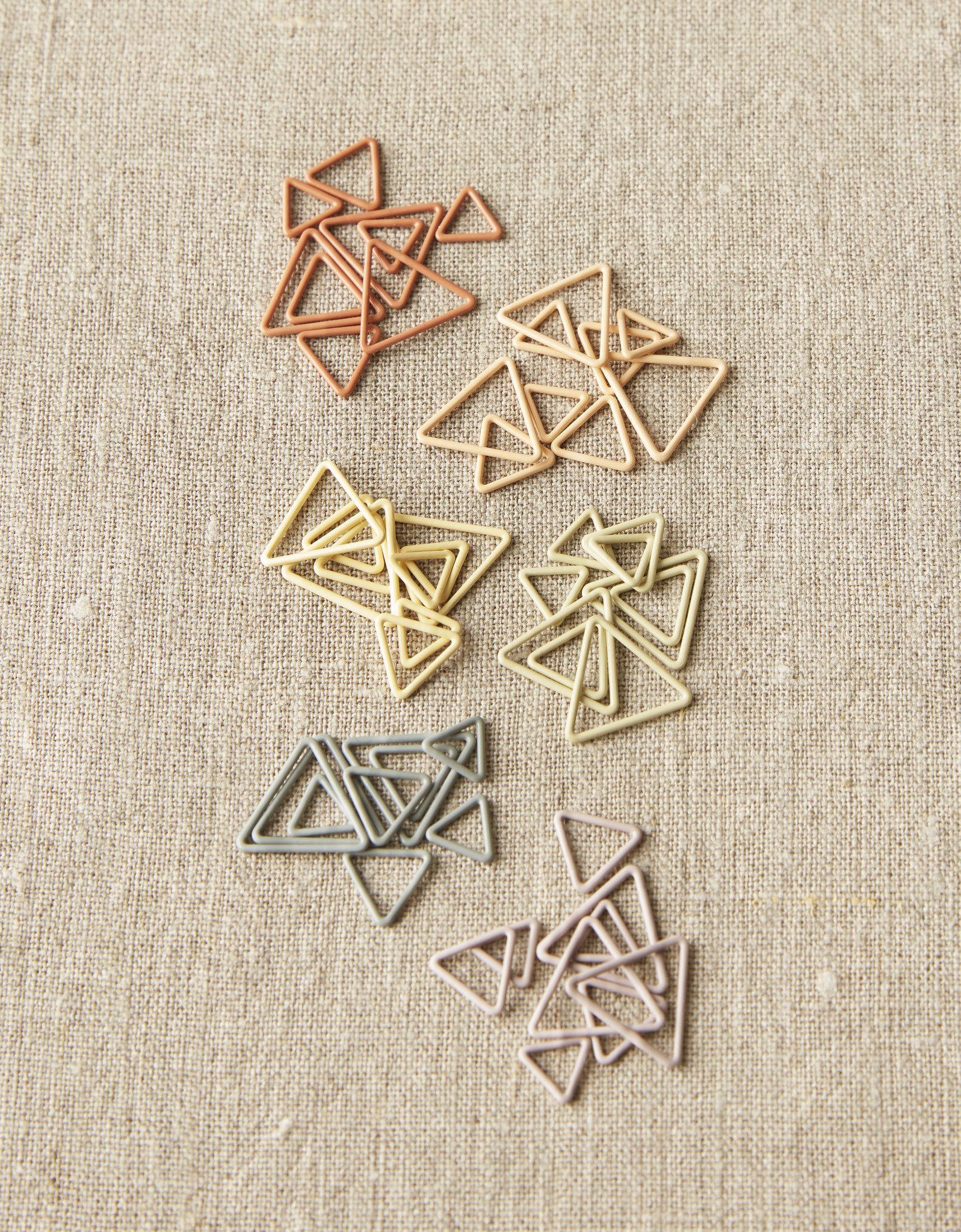 Cocoknits Cocoknits  Earth Tone Triangle Stitch Markers