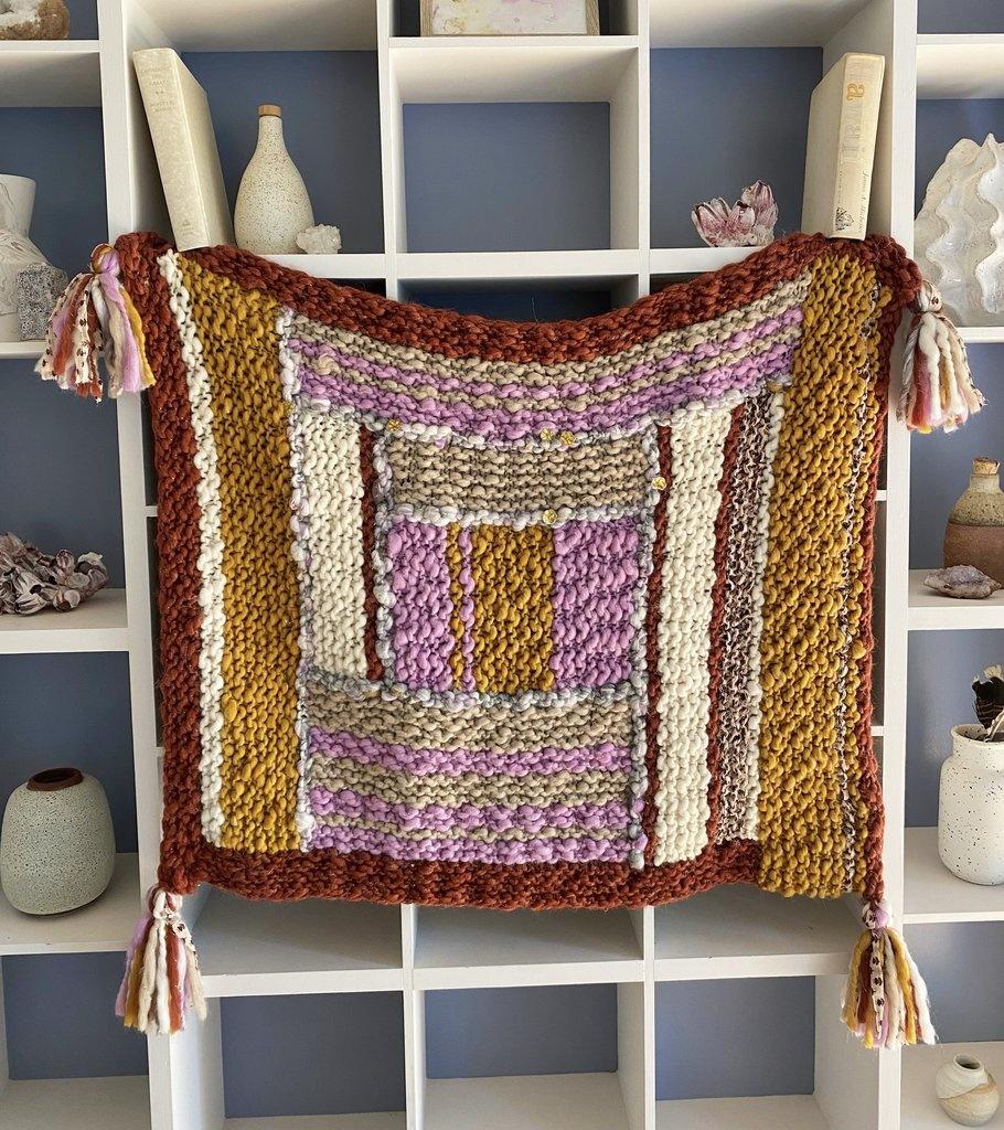 The Log Cabin Blanket Pattern by Susan Barstein