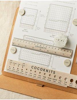Cocoknits Cocoknits Ruler & Gauge Set