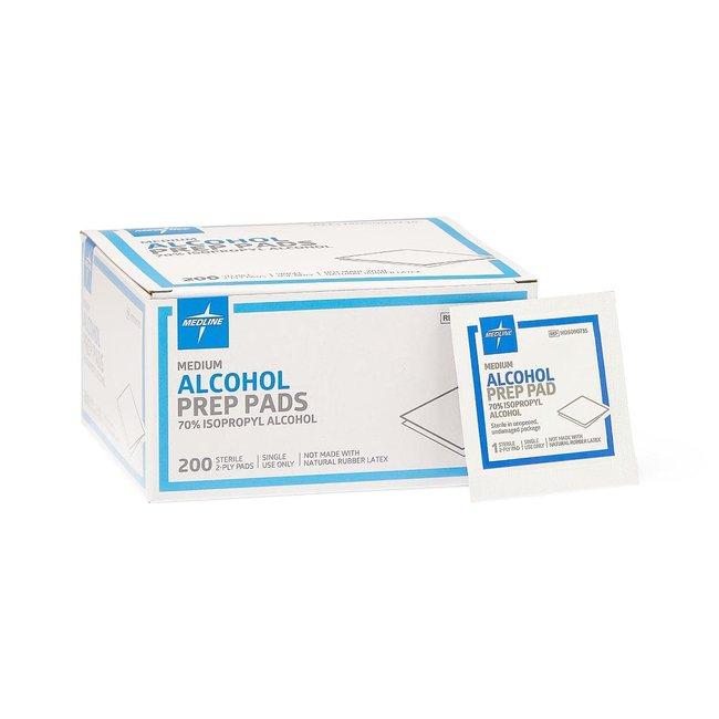 McKesson AZM Alcohol Prep Pad - Isopropyl Alcohol 70%