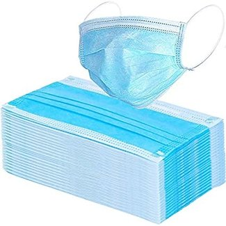 AZ MediQuip AZM 3-ply surgical mask, disposable - In Stock!