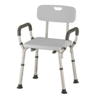 AZ MediQuip AZM Deluxe Bath Chair with back and padded arms