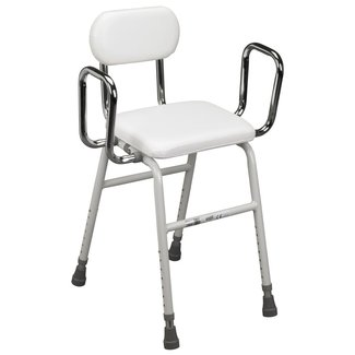 Drive Medical Drive Medical All-Purpose Stool with Adjustable Arms