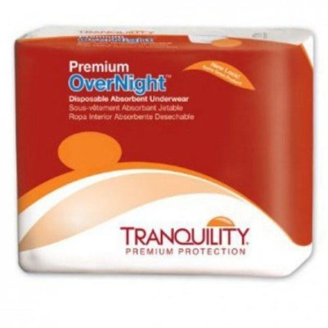Tranquility Tranquility Premium OverNight Disposable Absorbent Underwear