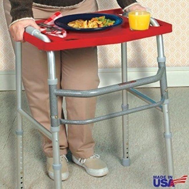 AZ MediQuip AZM Standard Walker Tray - With Grip Mat