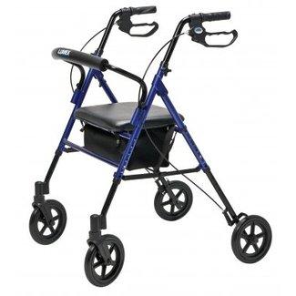 Lumex Lumex Set-N-Go WIDE Height Adjustable 4 Wheel Walker