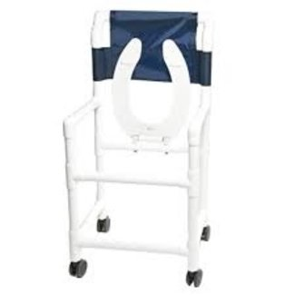 Lumex Lumex Deluxe PVC Rolling Commode & Shower Chairs