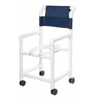 Lumex Lumex PVC Rolling Commode Shower Chair