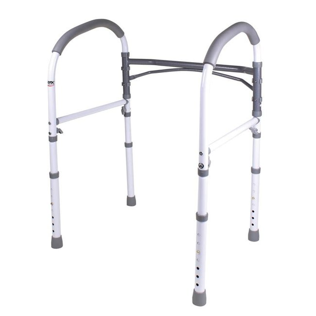 Compass Healthcare Height Adjustable Toilet Safety Rail